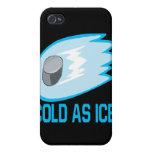Frío como hielo iPhone 4 cárcasas
