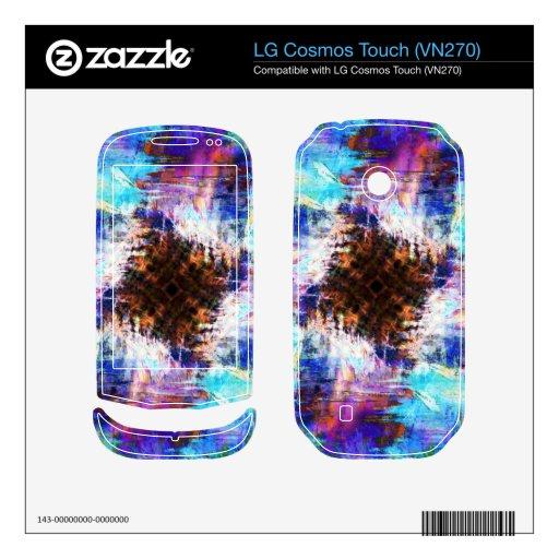 Frío como hielo LG cosmos touch skins