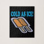 Frío como hielo rompecabezas con fotos