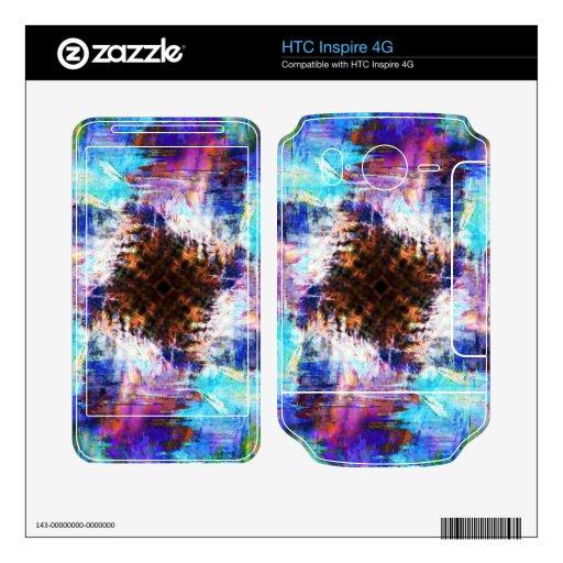 Frío como hielo skins para HTC inspire 4G