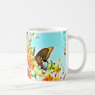 Frio Flamboyan De Jardin III Butterfly Mug
