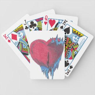 Frío Hearted Baraja Cartas De Poker