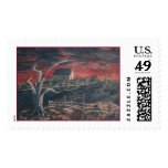 Frip Red Skys Postage Stamp