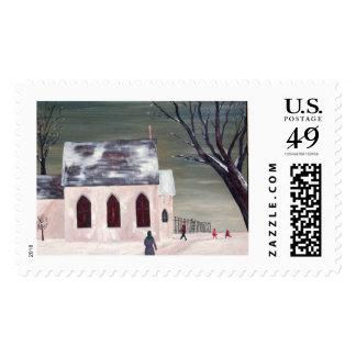 Frip Winter Church Stamp