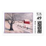Frip Winter Road Stamp