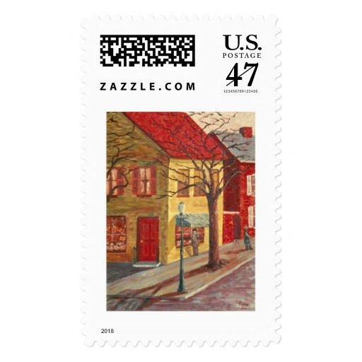 Frip Yellow Corner Stamp