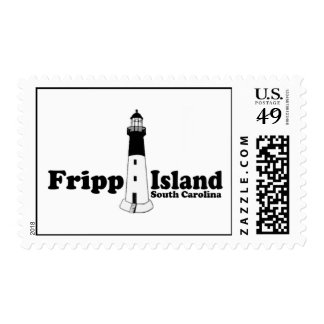 Fripp Beach Postage Stamps