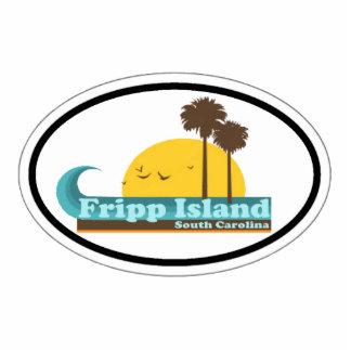 Fripp Island. Cutout