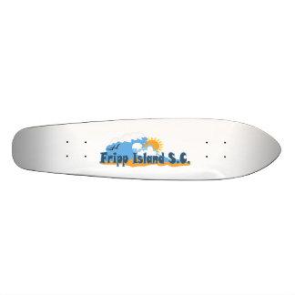 Fripp Island. Skateboard