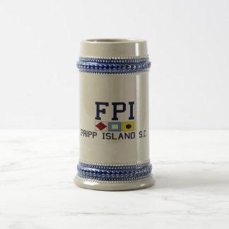Fripp Island South Carolina. Beer Stein