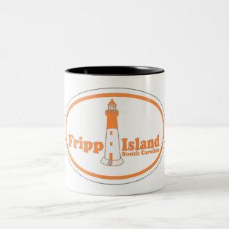 Fripp Island. Two-Tone Coffee Mug