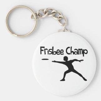 Frisbee Champ Keychain