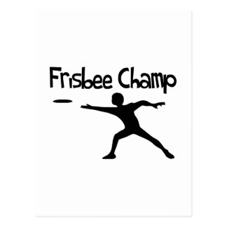 Frisbee Champ Postcards