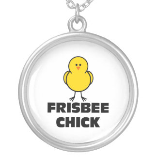 Frisbee Chick Necklaces