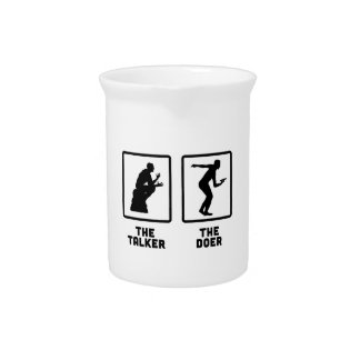 Frisbee Drink Pitcher