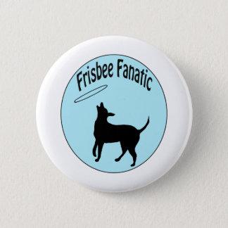 frisbee fanatic shirt pinback button