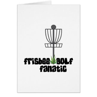 Frisbee Golf Fanatic Card