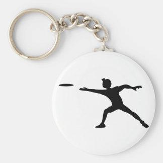Frisbee Keychain