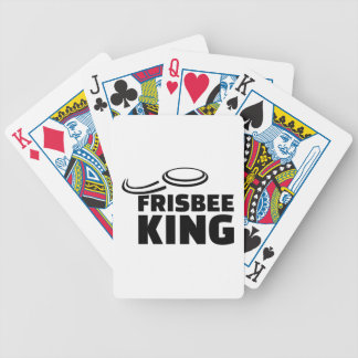 Frisbee king bicycle playing cards