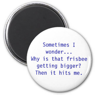 Frisbee Magnet