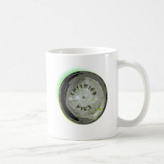 Frisbee Pie Tin Earth Colors Coffee Mug
