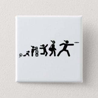 Frisbee Pinback Button