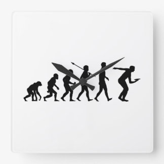 Frisbee Square Wall Clock