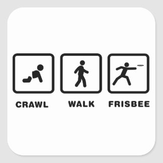 Frisbee Sticker