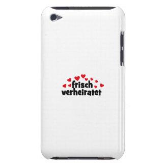 frisch verheiratet barely there iPod etuis