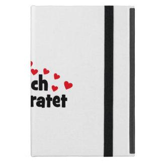 frisch verheiratet iPad mini schutzhüllen