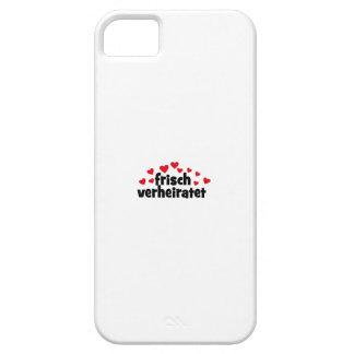 frisch verheiratet iPhone 5 case