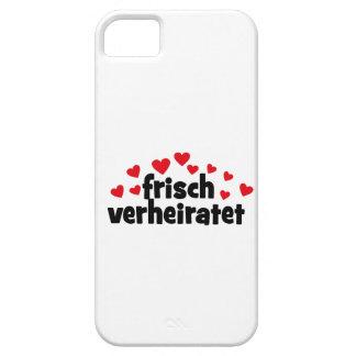 frisch verheiratet iPhone 5 cover