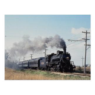 Frisco 2-10-0, No. 1630, Illinois Railroad Museum, Postcard