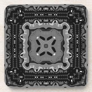 Frisco Black and White No. 18 Coaster
