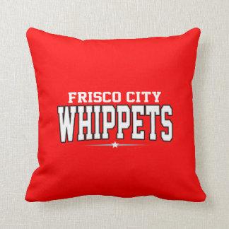 Frisco City High School; Whippets Throw Pillow