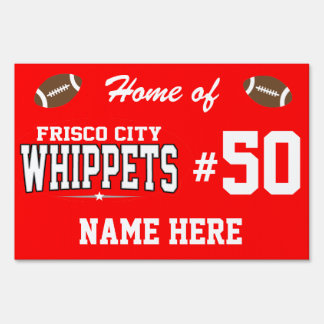 Frisco City High School; Whippets Lawn Sign