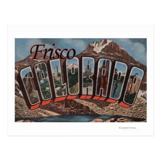 Frisco, Colorado - escenas grandes de la letra Postal