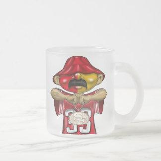 Frisco frosted glass mug