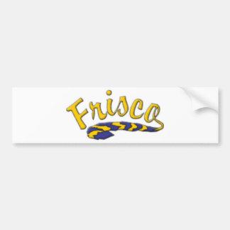 Frisco High School Tail Bumper Sticker