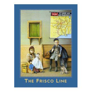Frisco Line Postcard