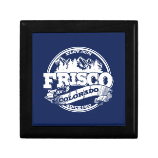 Frisco Old Circle Blue Trinket Boxes