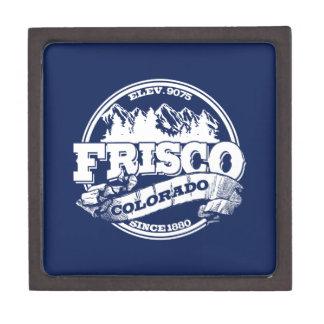 Frisco Old Circle Blue Premium Keepsake Box