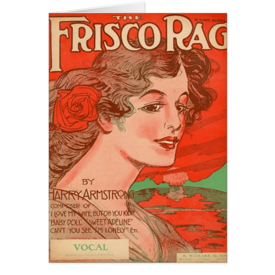 Frisco Rag by Harry Armstrong Card