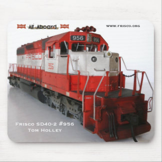 Frisco SD40-2 #956 HO Scale Mouse Pad