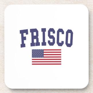 Frisco US Flag Beverage Coaster