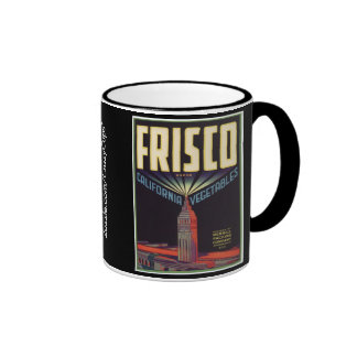 Frisco Vegetables Coffee Mugs