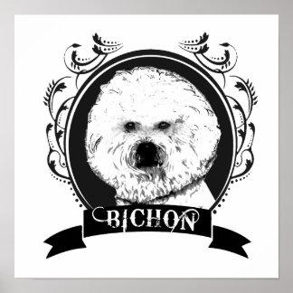 FRISE DE BICHON 4 IMPRESIONES