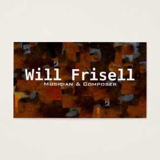"""Frisell"" Business Card"