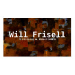 """""""Frisell"""" Business Card Template"""