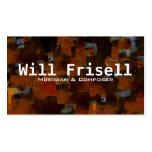 """""""Frisell """" Plantillas De Tarjetas Personales"""